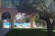 Les arches de la piscine